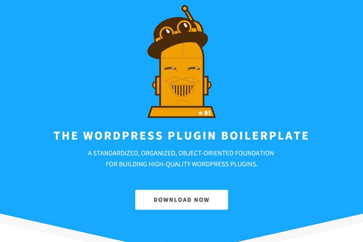wordpress plugin boilerplate home page