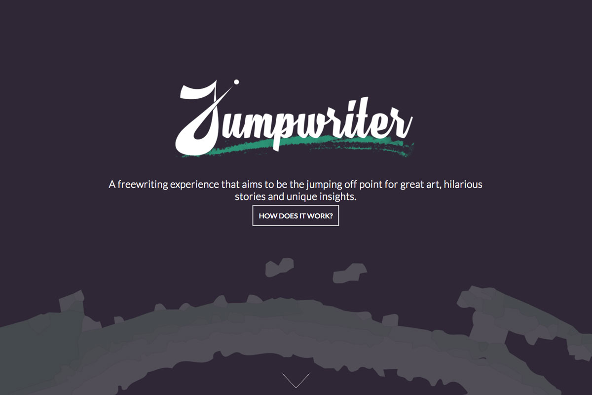 jumpwriter creative writing app