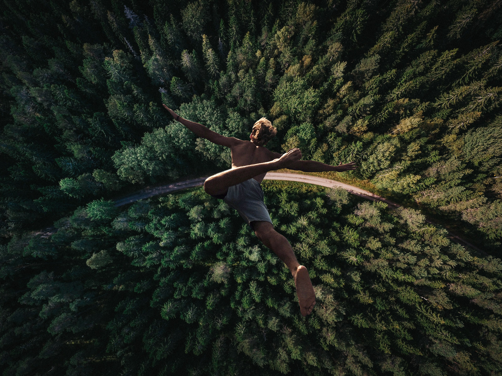 dive into nature