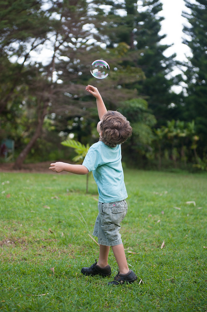 kid bubble