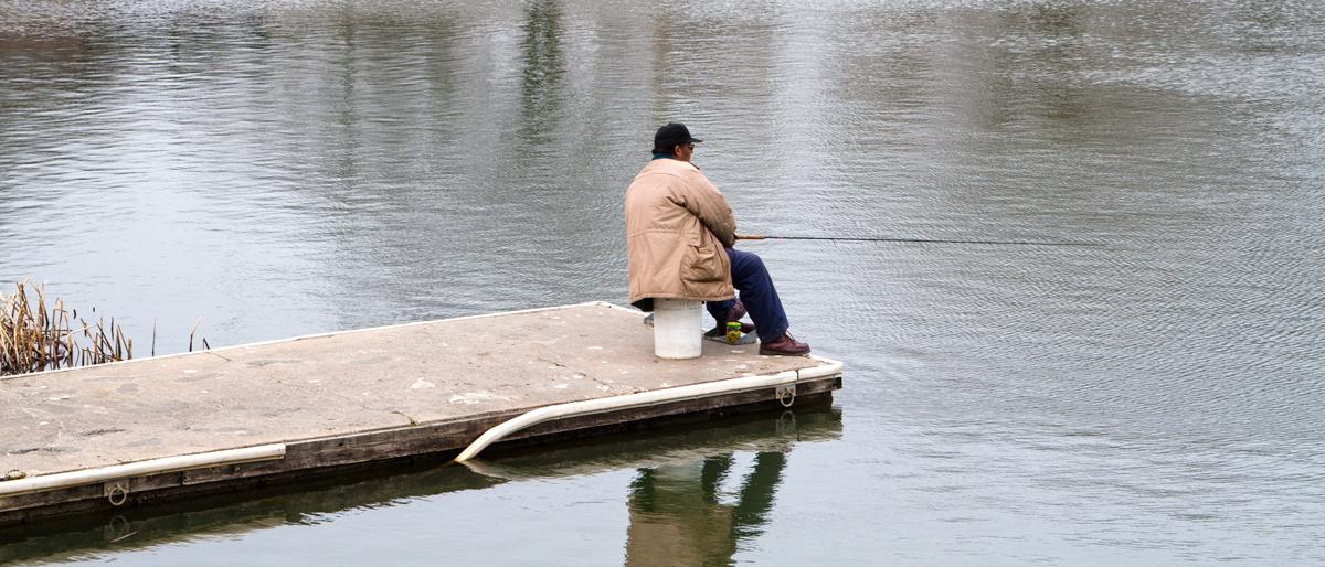 fishing in humboldt park