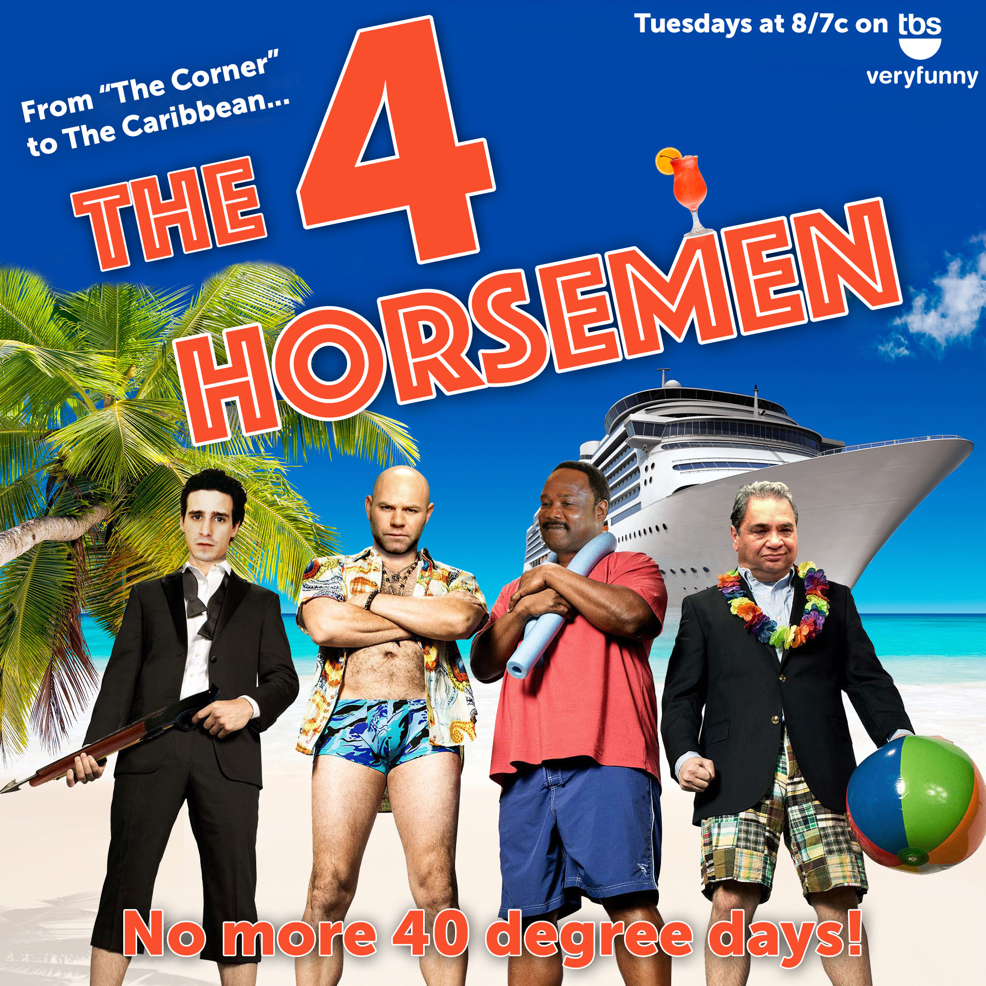 the 4 horseman, a new comedy on TBS featured your favorite characters from The Wire