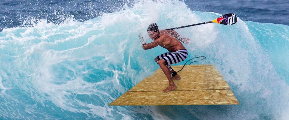 kai lenny's new paddleboard